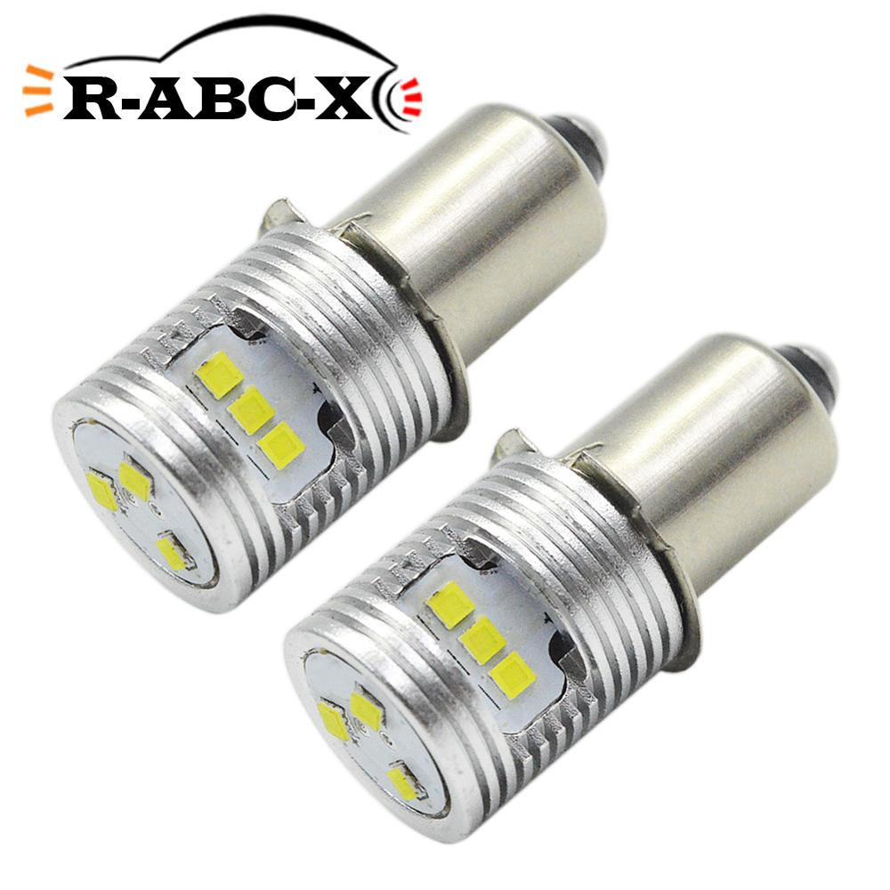 DC3V 4.5V 6-24V P13.5S High Power CSP LED Upgrade Bulb Flashlight Replacement Bulbs Torch Lamp Emergency Work Light