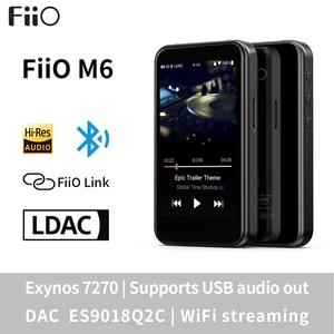 Image 1 - Fiio M6高解像度androidベースの音楽プレーヤーaptx hd、ldacハイファイbluetooth、usbオーディオ/dac、dsdサポートとwifi/エアプレイ