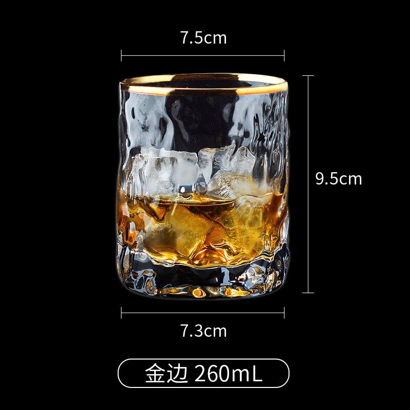 Drinkware Terrarium Milk Cup Korean Glass Crystal Shot Glass Dispenser Party Luxury Glass Cups Goblet Bardak Household Eg50bl