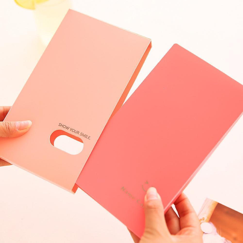 Portable 120-Pocket Album Photocard Business ID Name Cards Holder Organzier