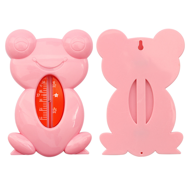 Leuke Cartoon Kikker Baby Thermometer Babybadje Thermometer Speelgoed Baby Plastic Bad Tank Water Temperatuur Sensor 1