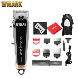 Image 3 - WMARK NG 103Plus Professional cordless Hair cutter Hair Trimmer 6500 rpm hair clipper adjustable length with Stagger Tooth blade