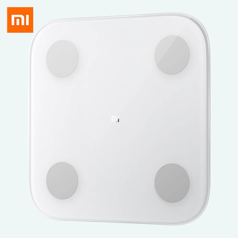Xiaomi Smart Body Fat Composition Scale 2 Bluetooth 5.0 Balance Test 13 Body Date BMI Health Weight Scale LED Display #3|Bathroom Scales| |  - title=