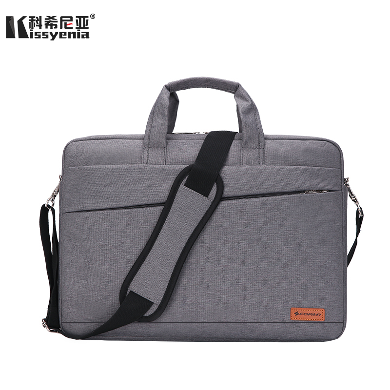 Kissyenia Waterproof Laptop Briefcase Men Women 13 14 15inch Computer Bag Business Laptop Case Flight Travel Shoulder Bag KS1251