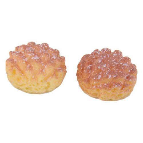6 Pcs Roti untuk 1/12 Rumah Boneka Miniatur