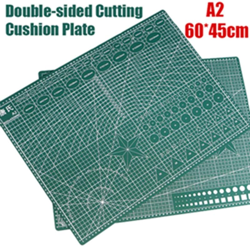 1pcs A2 Self-healing Cutting Mat Pvc Rectangle Grid Lines Tool Fabric Leather Craft Diy Cutting Supplies Stationary Cutting Mat