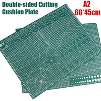 1pcs A2 Self-healing Cutting Mat Pvc Rectangle Grid Lines Tool Fabric Leather Craft Diy Cutting Supplies Stationary Cutting Mat