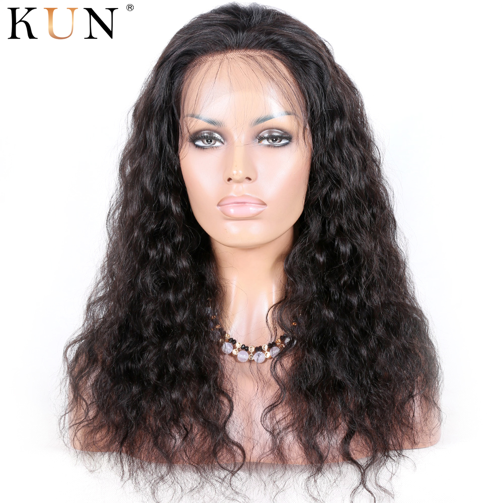 Lace Front Human Hair Wigs Deep Body Wave Wig 360 Lace Frontal Wig 150 180 Density Remy 4.5 & 6 Inch Parting PrePlucked Full End