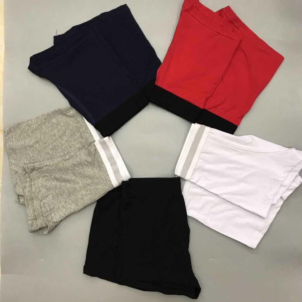 5 pièces nouvelle mode hommes boxeurs sous-vêtements respirant coton marque Top qualité Boxer court Sexy Gay Cuecas confortable sous les culottes