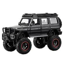 Hot scale 1:24 wheels diecast car Benz brab G5 metal model suv with light and sound monsters pull back vehicle toys collection