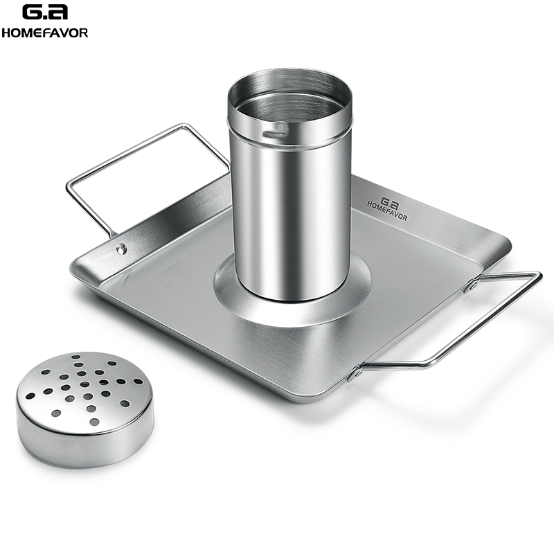 BBQ Chicken Roaster Beer Wine Chicken Holder Grill Rack Stainless Steel Vegetable Barbecue Pan Outdoor BBQ Accessories