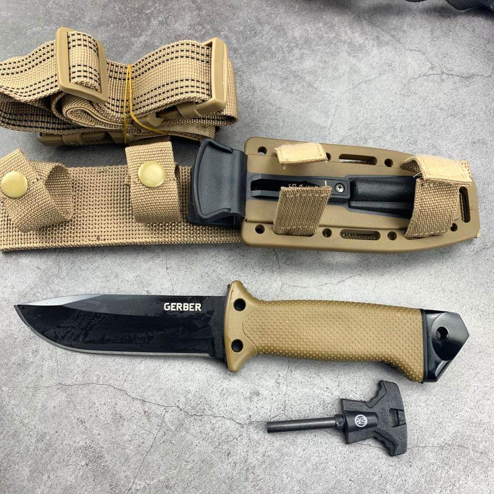 7CR17MOV Blade Quick Open Knives AKC 58HRC Outdoor Portable Pocket EDC Camping Tactical Folding Knife Combat Military Knifes