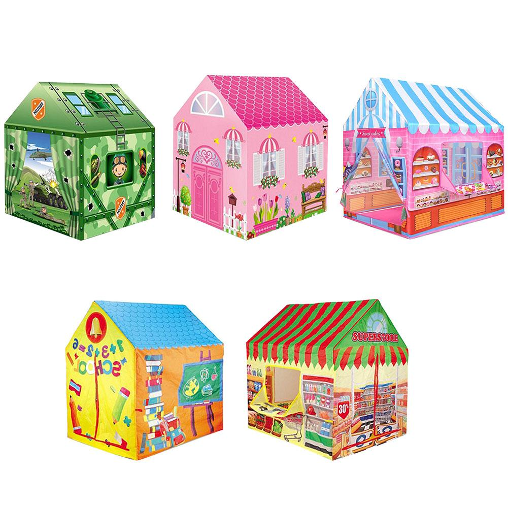 Playhouse For Kids Tent Play House Toys Tents Children Play Tent Boy Girl Indoor Outdoor Kids Playhouse Four Styles To Choose