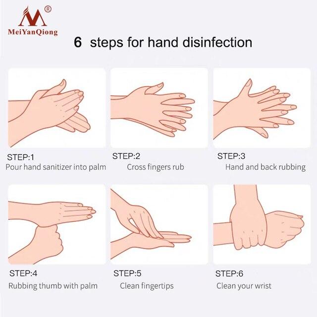 Hand Gel Silver Ion Hand Wash Hand Washing Fluid Natural Safe Moisturizing Without Hurting Hands Handwashing Fluid Shea Butter 3