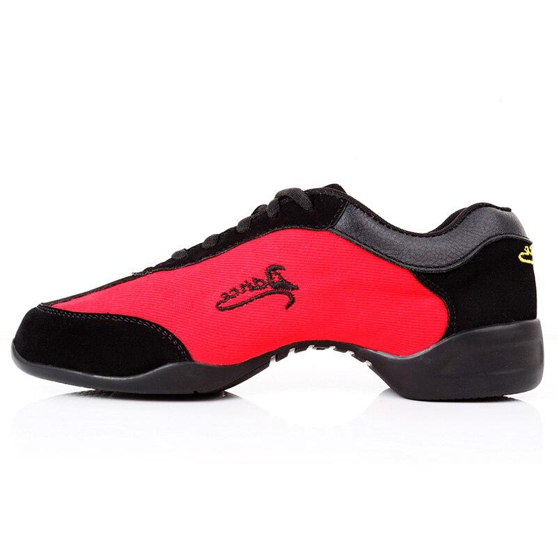 Купить 2020 модные танцевальные кроссовки для женщин дышащая парусиновая