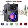 Bluetooth динамик Портативный большой мощности беспроводной стерео сабвуфер тяжелый бас динамик s звуковая коробка Поддержка FM радио TF AUX USB