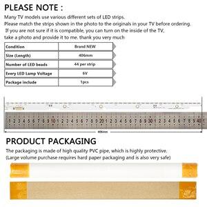 Image 5 - 44LED*6V New LED Strip 2012SVS32 7032NNB 44 2D REV1.0 For Samsung V1GE 320SM0 R1 UA32ES5500 UE32ES6100 UE32ES5530W UE32ES5507