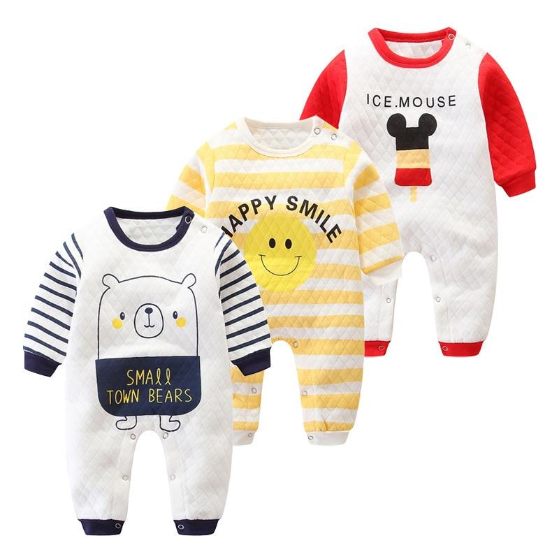 Cute Baby Infant Bodysuit Jumpsuit Sleeve Cotton Spring Girls Kids Romper Long