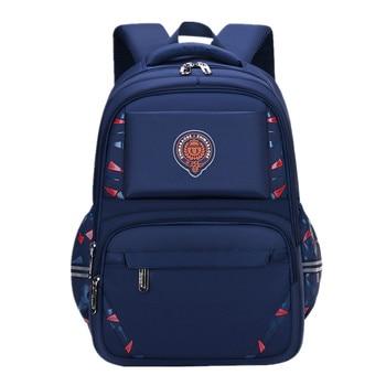 New Children Orthopedic School Bags Kids Backpack In Primary Schoolbag For Boys Waterproof Backpacks mochila infantil 2 sizes