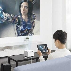 Image 4 - Xiaomi Fengmi Vogue DLP проектор 1500ANSI люмен 2 ГБ 32 ГБ MIUI TV Умный домашний кинотеатр проектор Поддержка боковая проекция