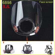 De alta definición de la Lente de repuesto Original SJL 6898 para mascarilla de la serie ZW/ZY 6800 accesorios hechos a mano