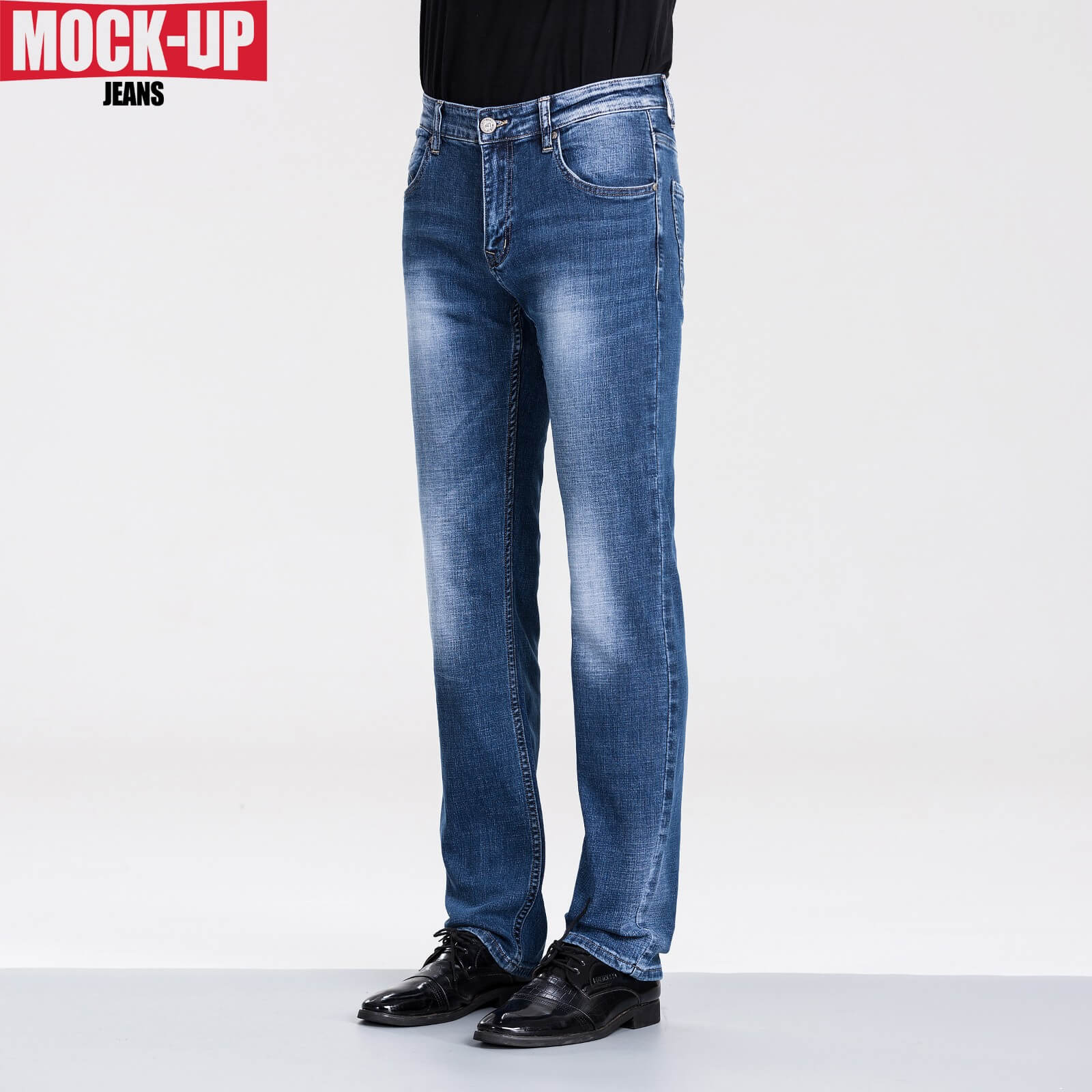 Mock Up Brand 2019 Skinny Jeans Men Denim Pants Male Mid Weight Men Casual Biker Denim Jeans PLUS Size 29-40 Desquared2 Hot Sell
