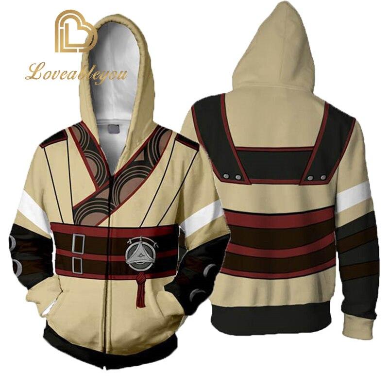 Fire Emblem Robin Cosplay Costume 3D Printed Sweatshirt Hoodie Jacket Coat