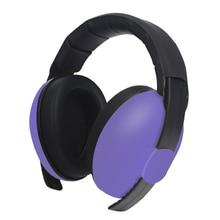 Эргономичные наушники для мальчиков и девочек с функцией шумоподавления, Защита слуха, прочный светильник, Регулируемый Вес