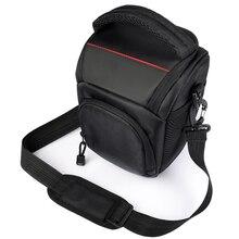 Sac photo étui à bandoulière pour Sony Alpha A6500 A6300 sac photo étui pour Canon EOS M50 M6 DSLR lentille pochette pour Nikon D3200 D3400