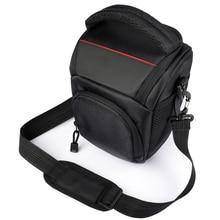 Сумка для камеры, наплечный чехол для Sony Alpha A6500 A6300, сумка для камеры, чехол для Canon EOS M50 M6 DSLR, чехол для объектива Nikon D3200 D3400