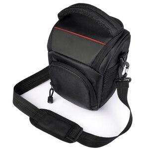 Image 1 - Сумка для камеры, наплечный чехол для Sony Alpha A6500 A6300, сумка для камеры, чехол для Canon EOS M50 M6 DSLR, чехол для объектива Nikon D3200 D3400