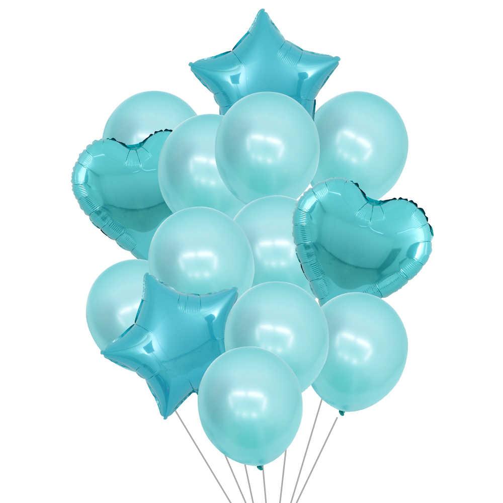 14 шт. 12 дюймов латексные 18 дюймов мульти воздушные шары для дня рождения гелиевый воздушный шар украшения Свадебный фестиваль балон вечерние поставки
