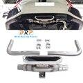 Nuovo arrivo di un set di modifica auto in acciaio inox di scarico terminale di scarico marmitta suggerimento per Honda Civic FC SI stile in 2019