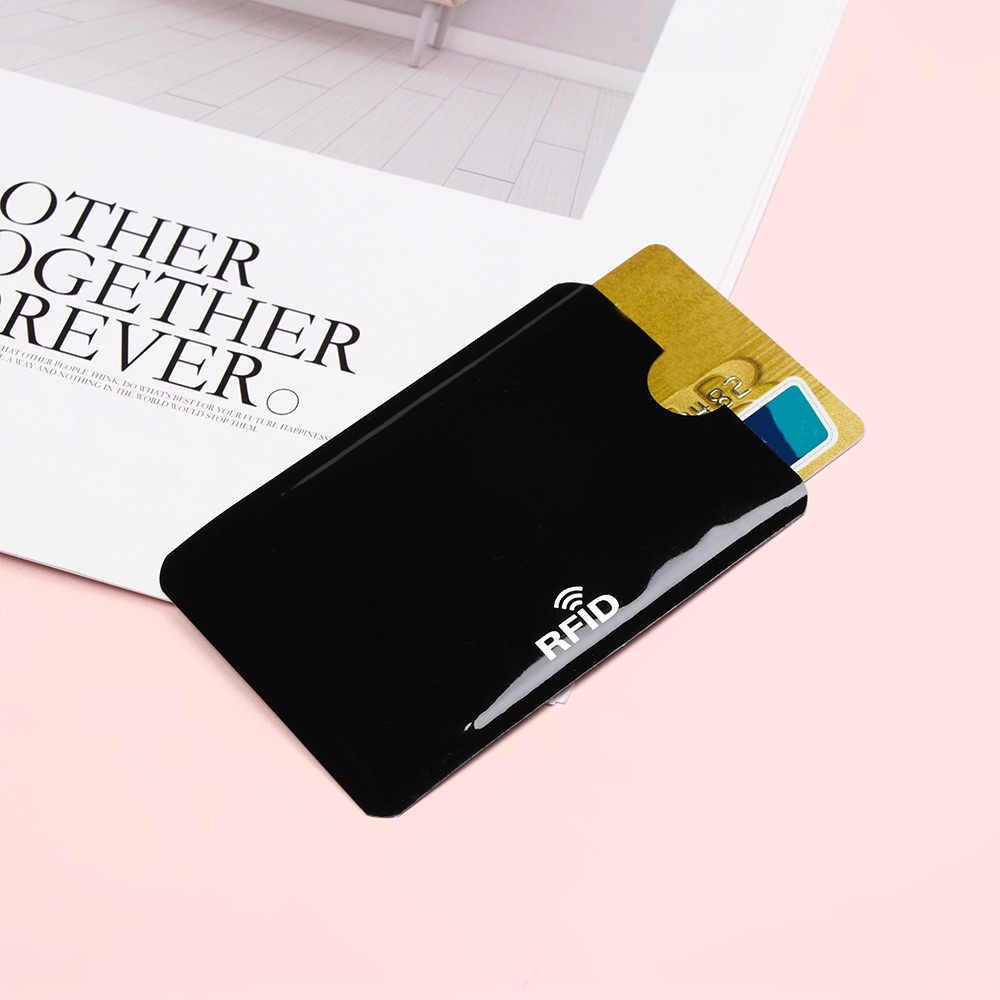 5/10 adet yeni RFID kredi kartı koruyucu Anti hırsızlık engelleme kart tutucu koruma banka kartı durumda kollu kılıf kapakları