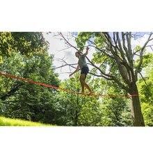 Zestaw Hot Slackline Outdoor Extreme Slack Line Ratchet napinacz sprzęt do ćwiczeń w celu poprawy umiejętności równowagi wytrzymałość rdzenia