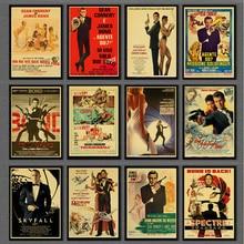 Café póster Retro Vintage carteles y huellas Bar Café cocina sala de pintura decorativa Kraft pegatinas de papel para pared