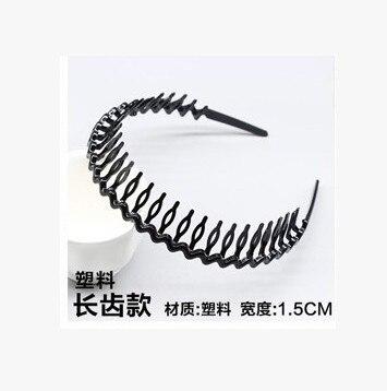 Новая мода Мужская Женская унисекс черная волнистая повязка для волос спортивная повязка для волос аксессуары для волос - Цвет: 8