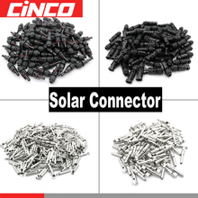 50pair PV Connector male female 30A 1000V Solar Panel branch series Connect solar system Plug PV Cable 2.5/4/6mm2