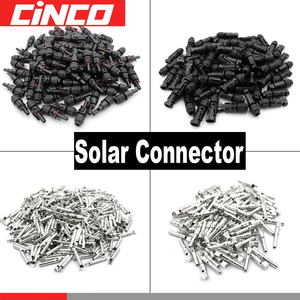 Image 1 - 50pair PV Connector male female 30A 1000V Solar Panel branch series Connect solar system Plug PV Cable 2.5/4/6mm2