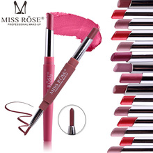Lip Pencil Long Lasting Easy to Wear Cosmetics Makeup Lipliner Lipstick Pencil P