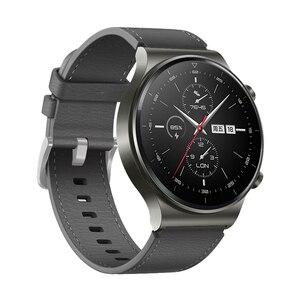 Image 4 - Sportowy skórzany pasek do zegarka Huawei GT 2 Pro pasek oficjalny styl Watchband do huawei gt2 pro opaska wymiana bransoletki