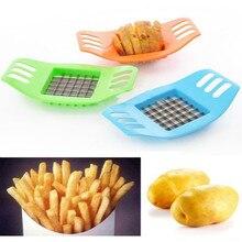 Нож для резки картофеля и овощей резак французский фри резак Чоппер чипы делая инструмент резка картофеля Кухонные гаджеты