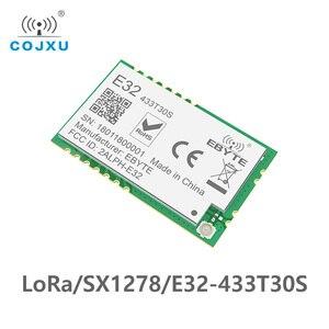 Image 2 - Lora SX1278 RF 433 Mhz Tcxo Module 1 W Ebyte E32 433T30S Tầm Xa Thu Phát UART SMD 30dBm 433 Mhz IOT thiết Bị Thu Phát