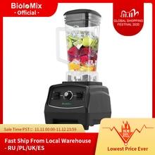 Sans BPA 3HP 2200W robuste de qualité commerciale mélangeur mélangeur presse agrumes haute puissance robot culinaire glace Smoothie Bar mélangeur de fruits