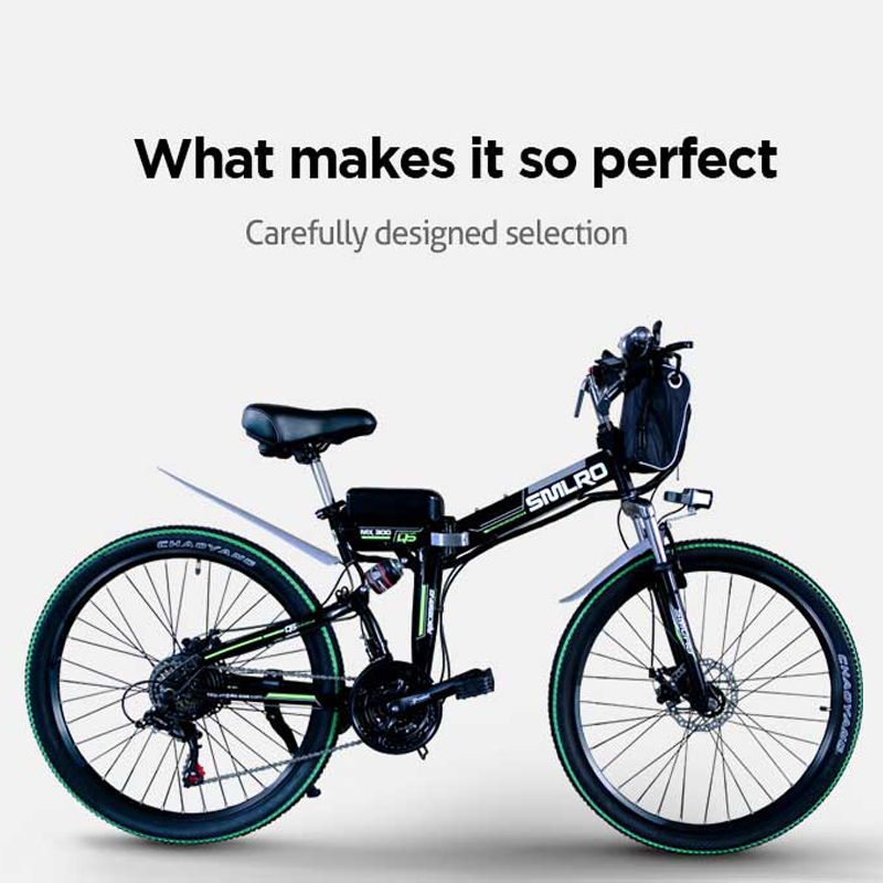 "1000W 48V 26 "" Carbon Steel electric bike with 13AH lithium battery e MTB 26 ""Carbon Steel electric e-bike 5"