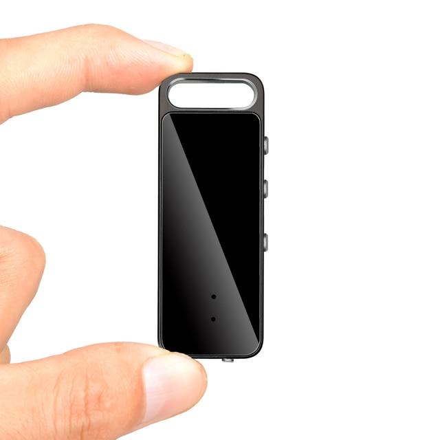قلم USB صغير رفيع للغاية يعمل بالصوت ، 8 جيجابايت و 16 جيجابايت ، مسجل صوت رقمي ، مشغل Mp3 ، تسجيل ، 192Kbps ، صندوق معدني