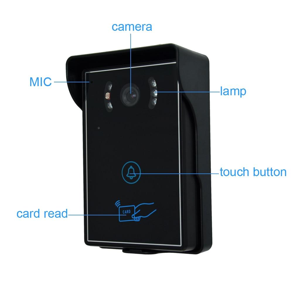 7 video door phone