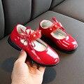 Модная детская обувь для девочек обувь для принцессы Милая весенне-Осенняя обувь с цветами для малышей Детская Свадебная обувь