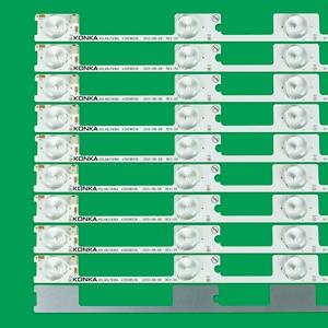 Image 2 - 10pcs x 6v LED Bar TV Backlight Strips for Konka KDL48JT618A 258YTK Panel 35018539 6 LEDs 442mm 48 TV Backlit