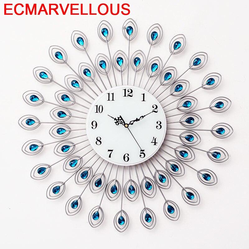 Настенные цифровые часы Wandklokken Decorativo Wandklok Zegar Murale Grande Taille Relogio De Parede Reloj Pared Klok Horloge